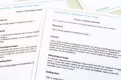 Gratis schema's om aquarunningtraining uit te proberen in zwembad Nijmegen.