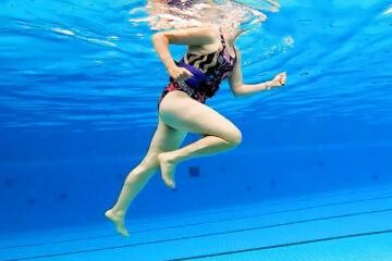 Loopscholing kan ook in het zwembad - Aquarunning