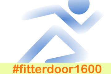 Fitterdoor1600 is een hardloopchallenge waarbij je elke dag 1600 m hardloopt